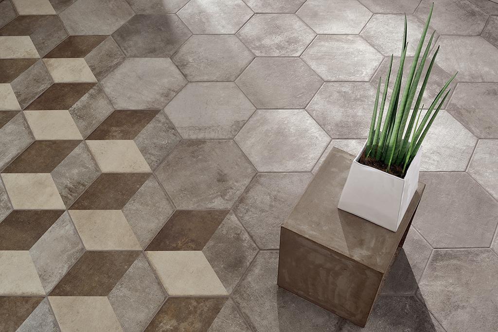 Pavimenti-gres-esagona_Ceramica-Fioranese_Heritage_Exagona-Grey_Texture2