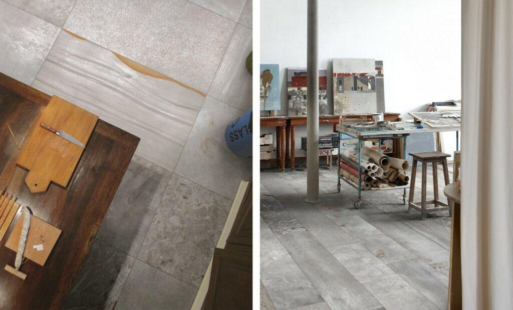Jumble Cemento betongfliser inspirert av sement fra Itallienske 41Zero42