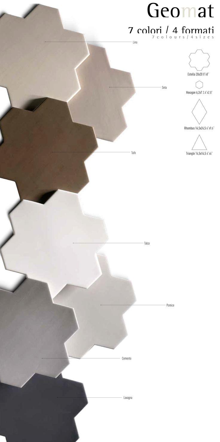 Geomat uendelige kombinasjoner bella for Piastrelle 8x8