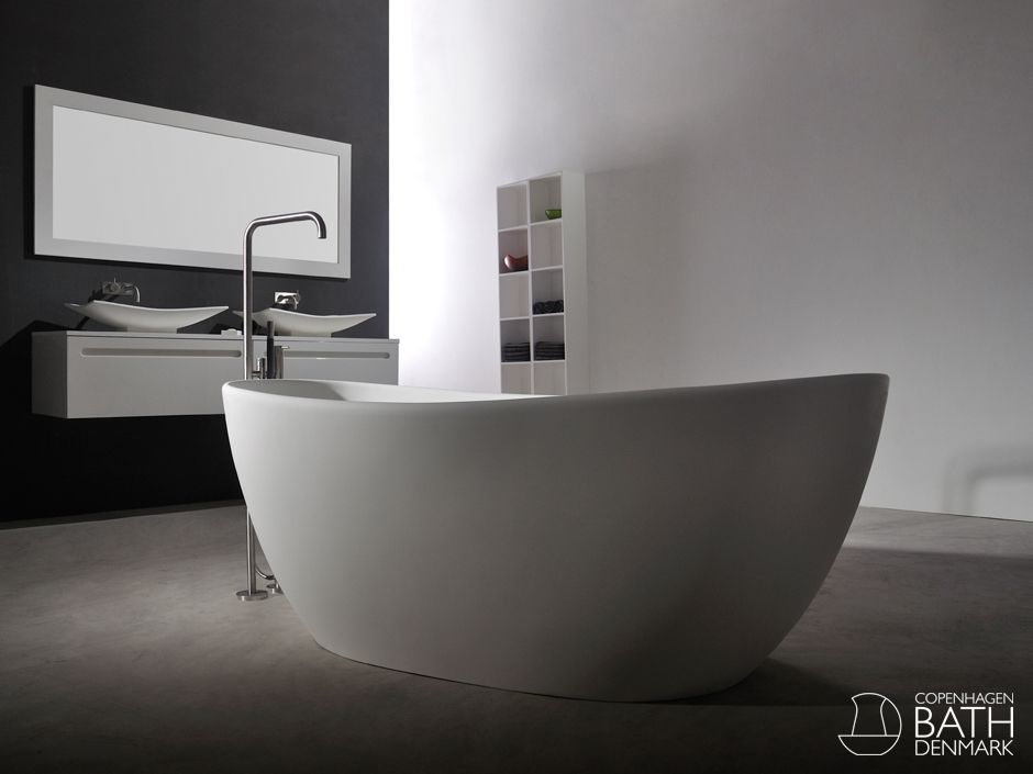 Rømø badekar fra Copenhagen Bath
