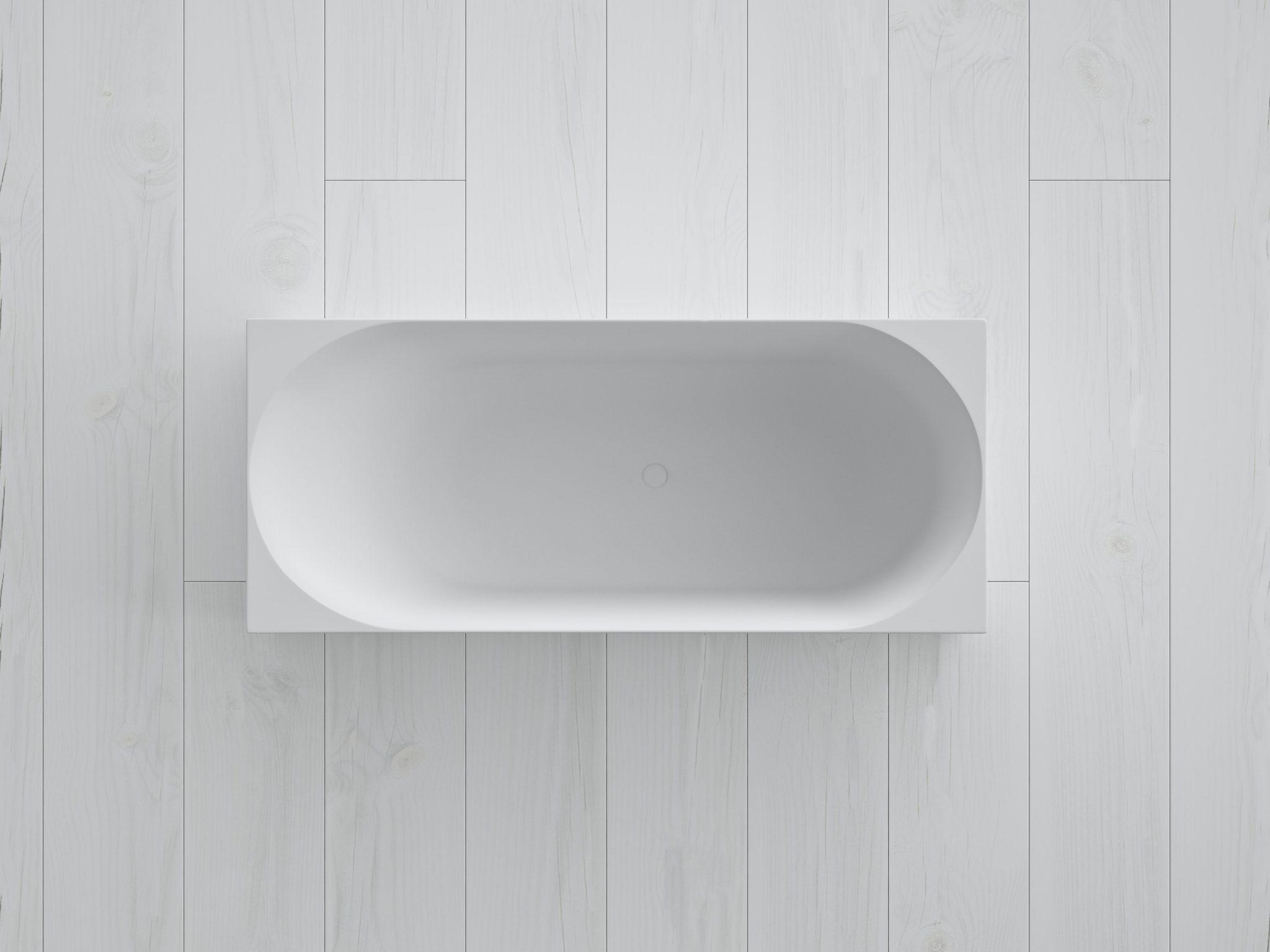 SQ1 badekar fra Copenhagen Bath