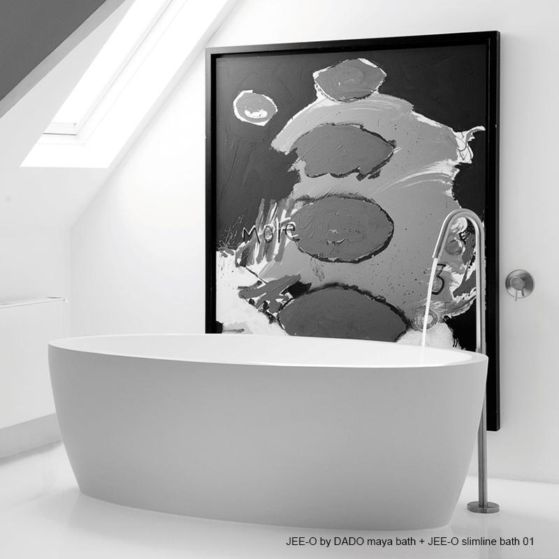 Maya - frittstående badekar fra JEE-O
