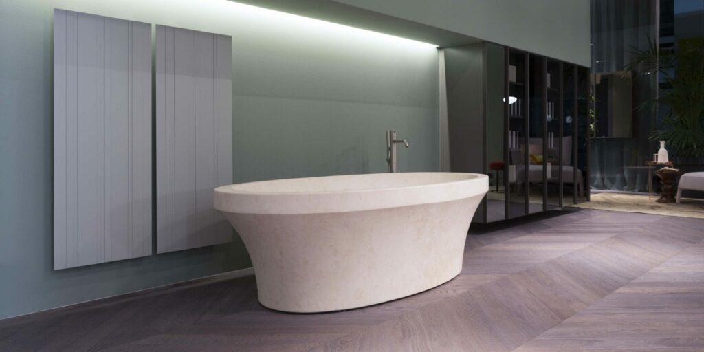 Badekar i marmor fra Antonio Lupi