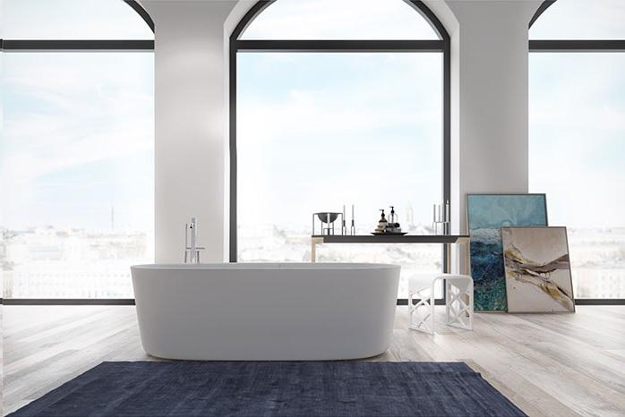 Elegant badekar Hornbæk